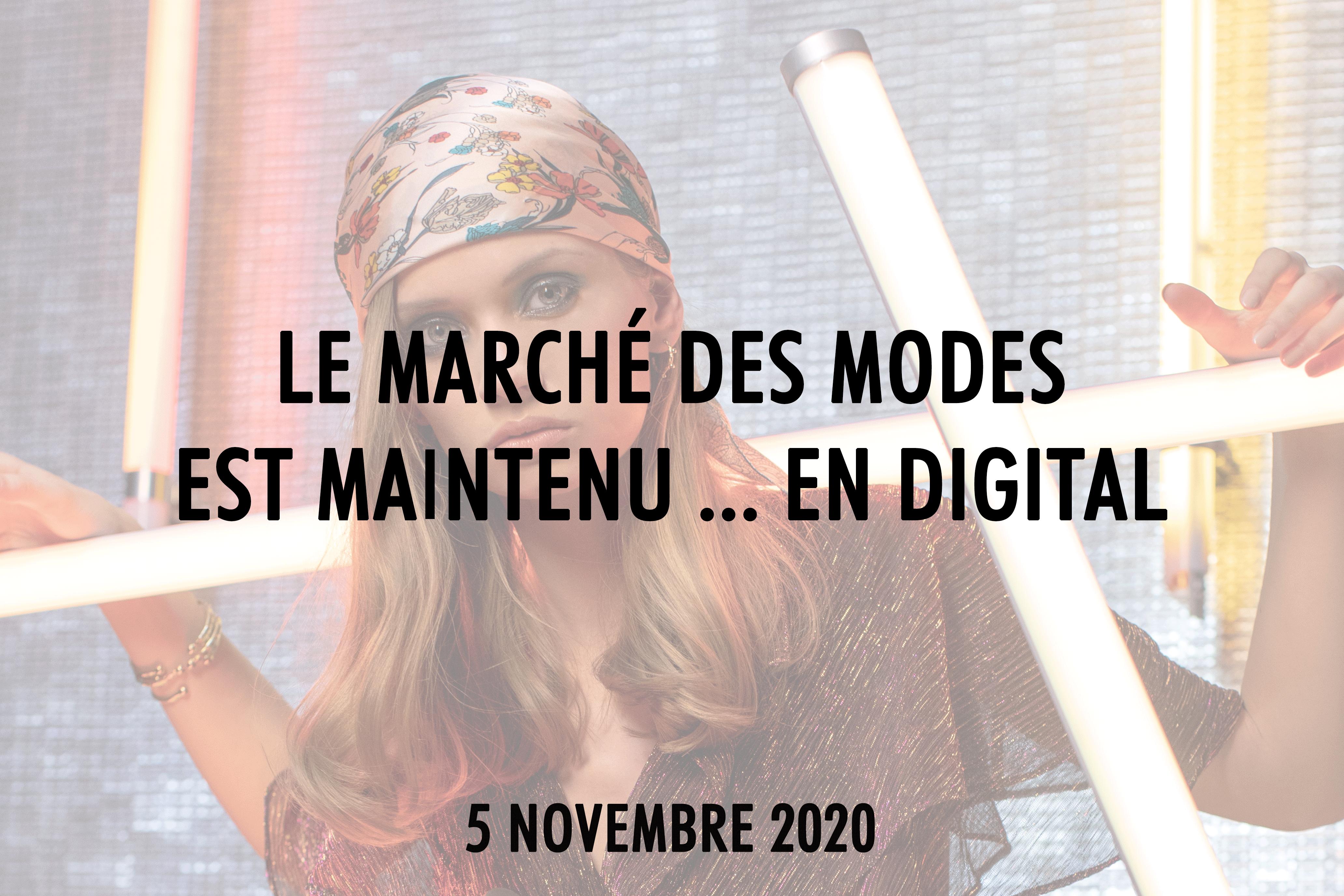 Marché des Modes digital