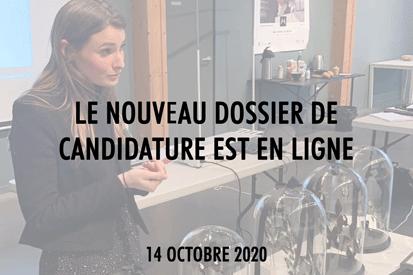 Candidature Maisons de Mode 2020 2021